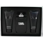KARL LAGERFELD - Комплект за мъже - Тоалетна вода 100 мл + Афтършейв балсам 100 мл + Душ гел 100 мл-Парфюми