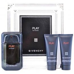 Givenchy Play Intense - Комплект за мъже - Тоалетна вода 100 мл + Афтършев гел 75 мл + Душ гел 75 мл-Парфюми