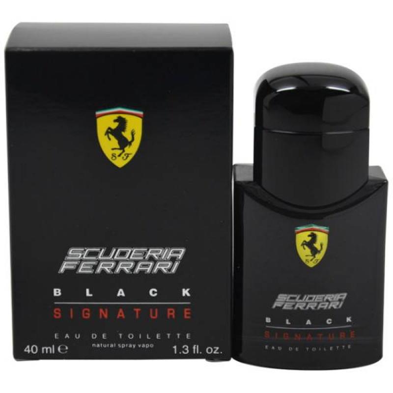 FERRARI BLACK SIGNATURE - Тоалетна вода за мъже   EDT 40 мл-Парфюми