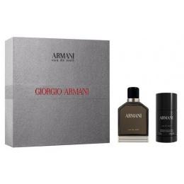 Giorgio Armani Eau De Nuit Комплект Тоалетна вода + Део-стик за мъже EDT + DEOSTICK 100 мл + 75 гр-Парфюми