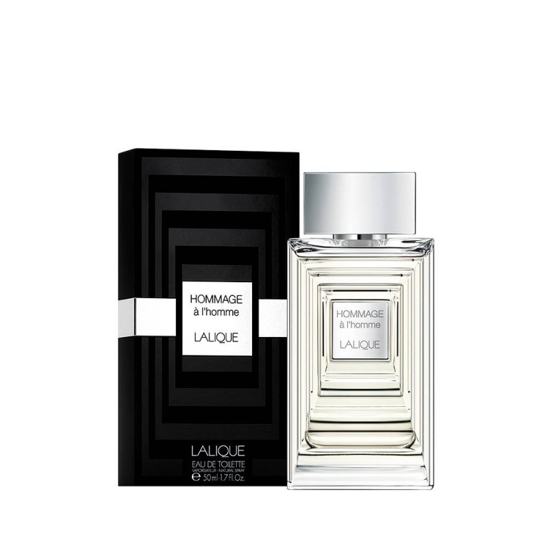 Lalique Hommage A L`Homme - Тоалетна вода за мъже EDT 50 мл-Парфюми