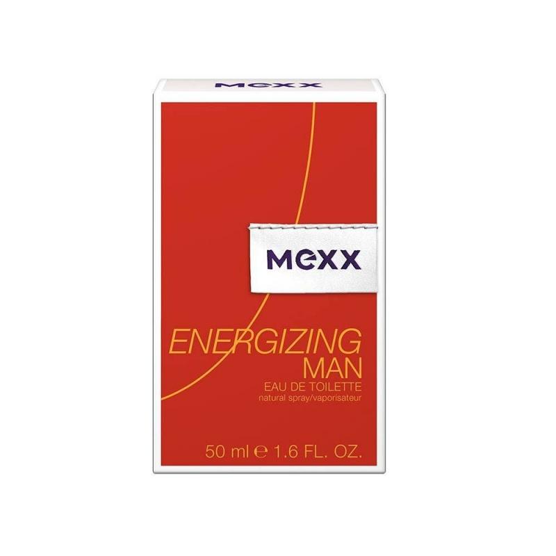 Mexx Energizing Man - Тоалетна вода за мъже EDT 50 мл-Парфюми
