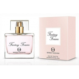 Sergio Tacchini Fantasy Forever - Тоалетна вода за жени EDT 100 мл-Парфюми