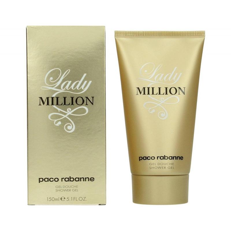 Paco Rabanne Lady Million - Душ гел за жени SG 150 мл-Парфюми