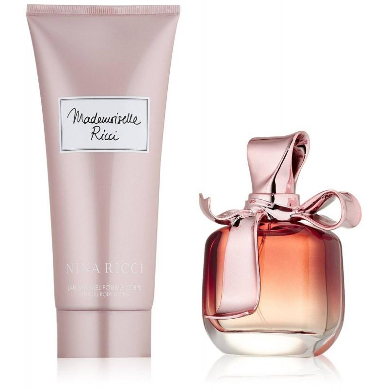 Nina Ricci Mademoiselle Ricci - Комплект Парфюмна вода + Лосион за тяло за жени EDP + BL 50 мл + 100 мл-Парфюми