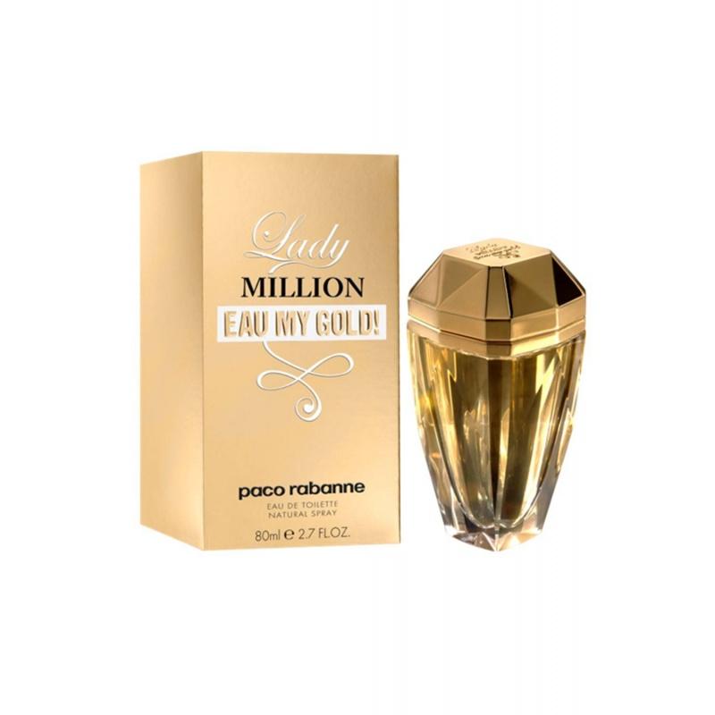 Paco Rabanne Lady Million Eau My Gold - Тоалетна вода за жени EDT 80 мл-Парфюми