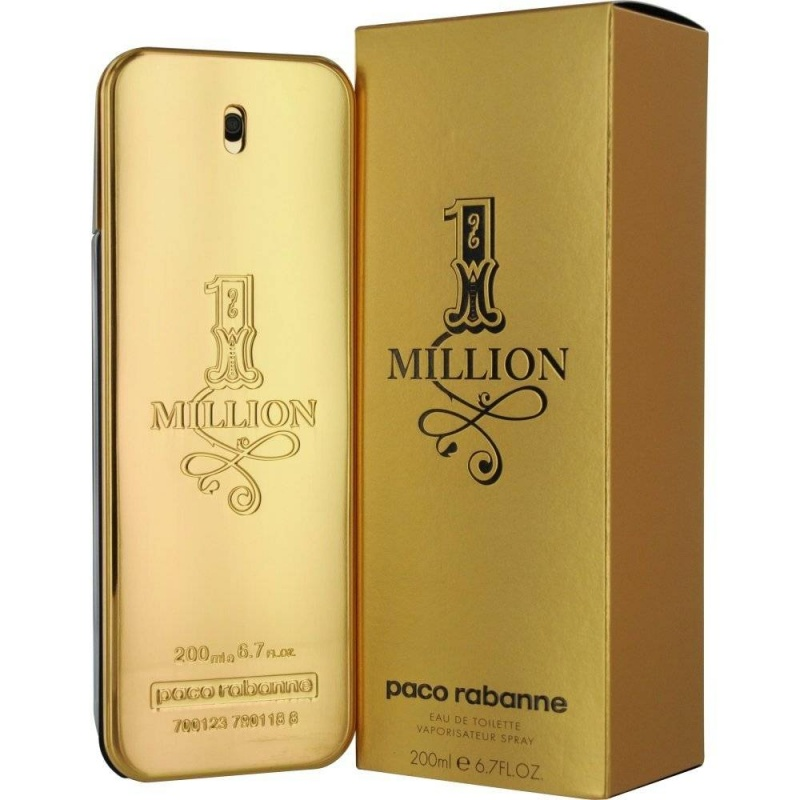 Paco Rabanne One Million - Тоалетна вода за мъже EDT 200 мл-Парфюми