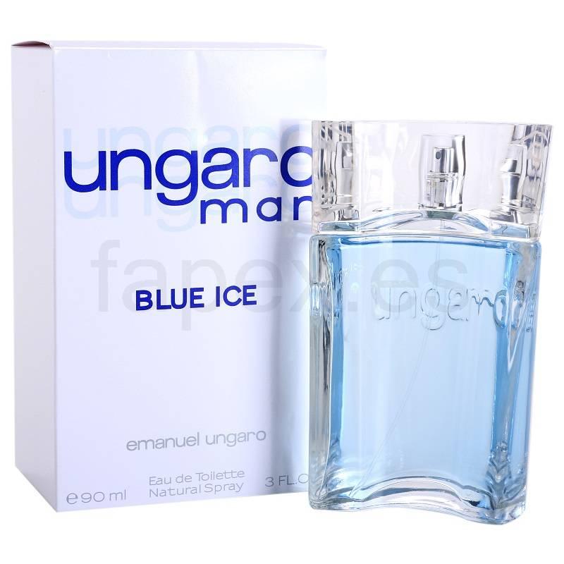 Ungaro Blue Ice - Тоалетна вода за мъже EDT 90 мл-Парфюми