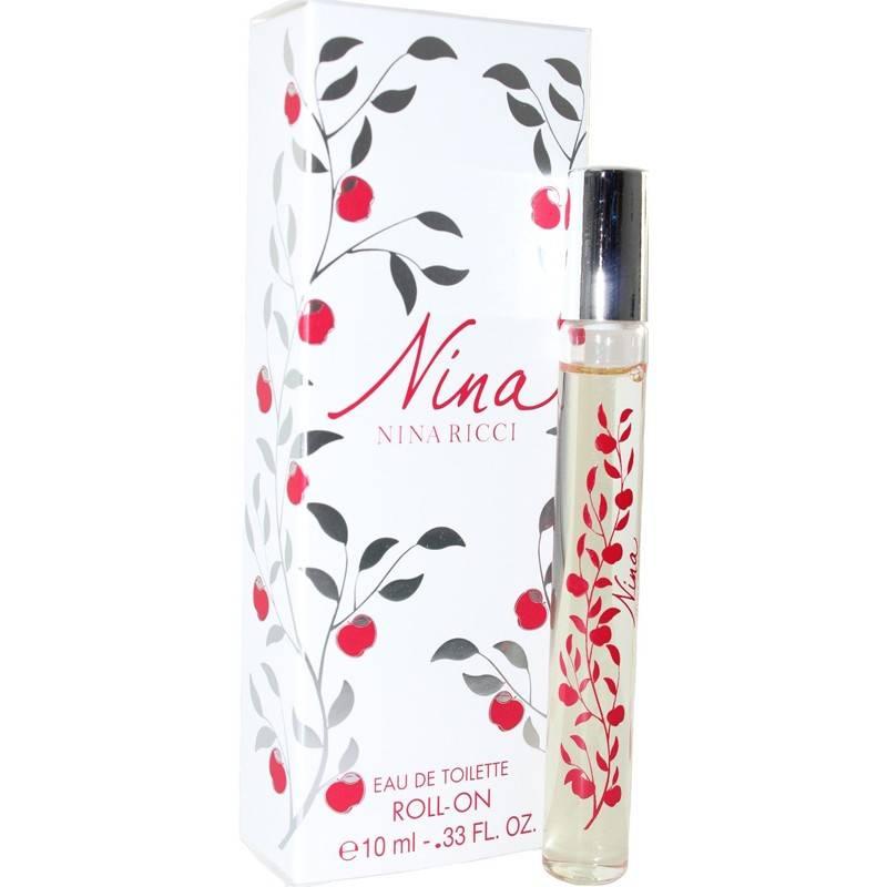 Nina Ricci Nina -  Тоалетна вода за жени EDT Roll-On 10 мл -Парфюми