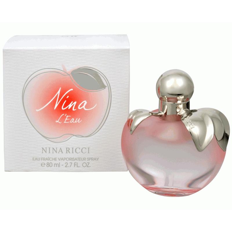Nina Ricci Nina L`Eau - Тоалетна вода за жени EDT 80 мл-Парфюми
