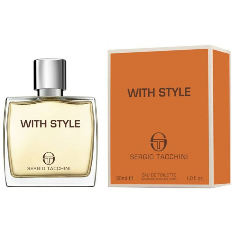 Sergio Tacchini St With Style -  Тоалетна вода за мъже EDT 30 мл-Парфюми