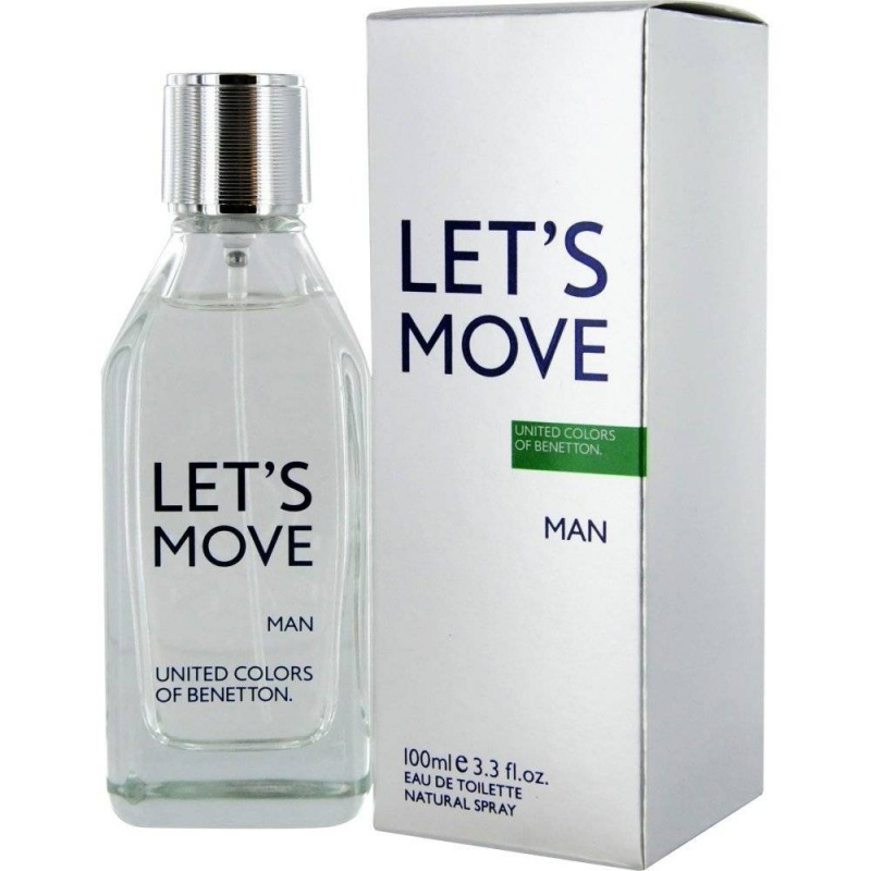 Benetton Let`S Move  Тоалетна вода за мъже EDT 100 мл-Парфюми