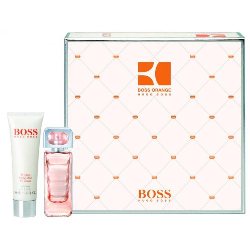 Hugo Boss Orange Комплект Тоалетна вода + Лосион за тяло за жени EDT + BL 30 мл + 50 мл-Парфюми