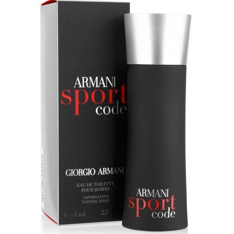 Giorgio Armani Code Sport - Тоалетна вода за мъже EDT 75 мл-Парфюми