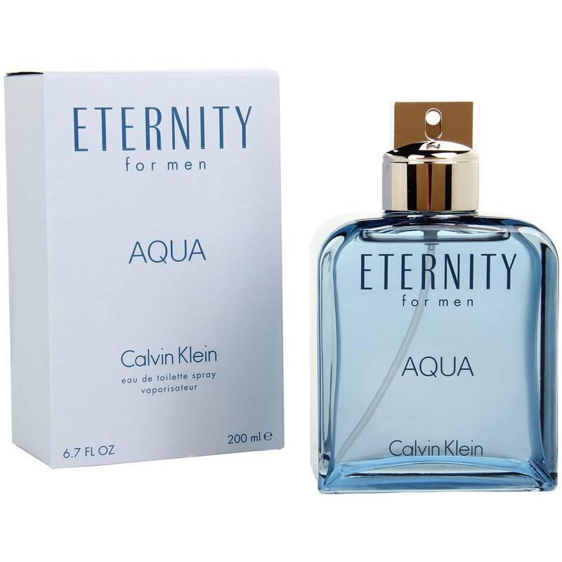 Calvin Klein Eternity Aqua  Тоалетна вода за мъже EDT 200 мл-Парфюми