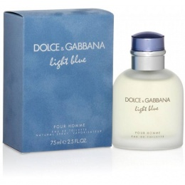Dolce & Gabbana Light Blue - Тоалетна вода за мъже EDT 75 мл-Парфюми