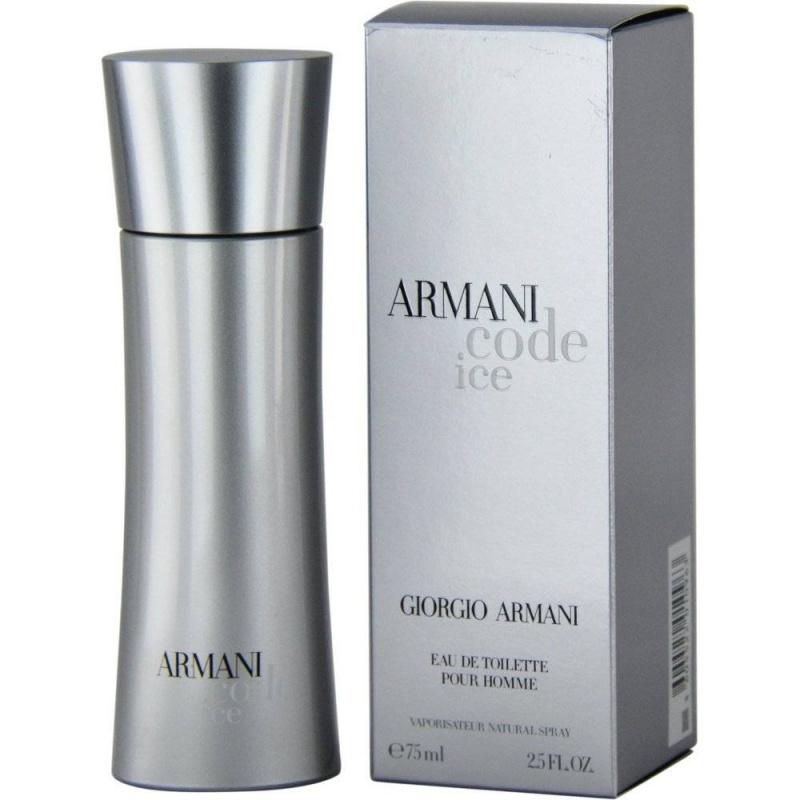 Giorgio Armani Code Ice - Тоалетна вода за мъже EDT 75 мл-Парфюми