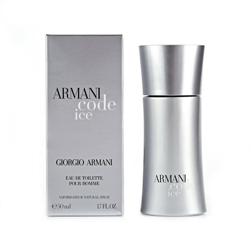Giorgio Armani Code Ice - Тоалетна вода за мъже EDT 50 мл-Парфюми