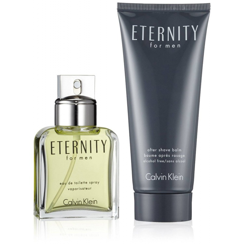 Calvin Klein Eternity Комплект Тоалетна вода + Афтършейв балсам за мъже EDT + ASB 50 мл + 100 мл-Парфюми
