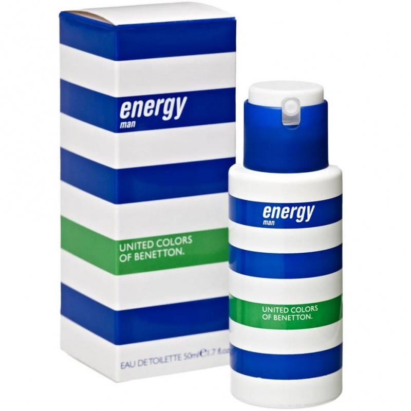 Benetton Energy  Тоалетна вода за мъже EDT 50 мл-Парфюми