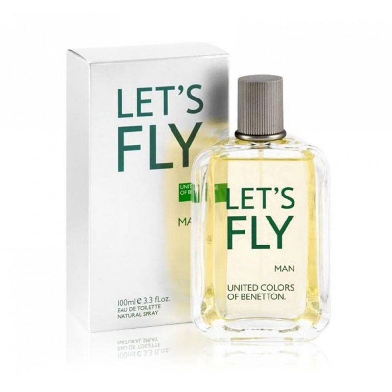Benetton Let`S Fly  Тоалетна вода за мъже EDT 100 мл-Парфюми