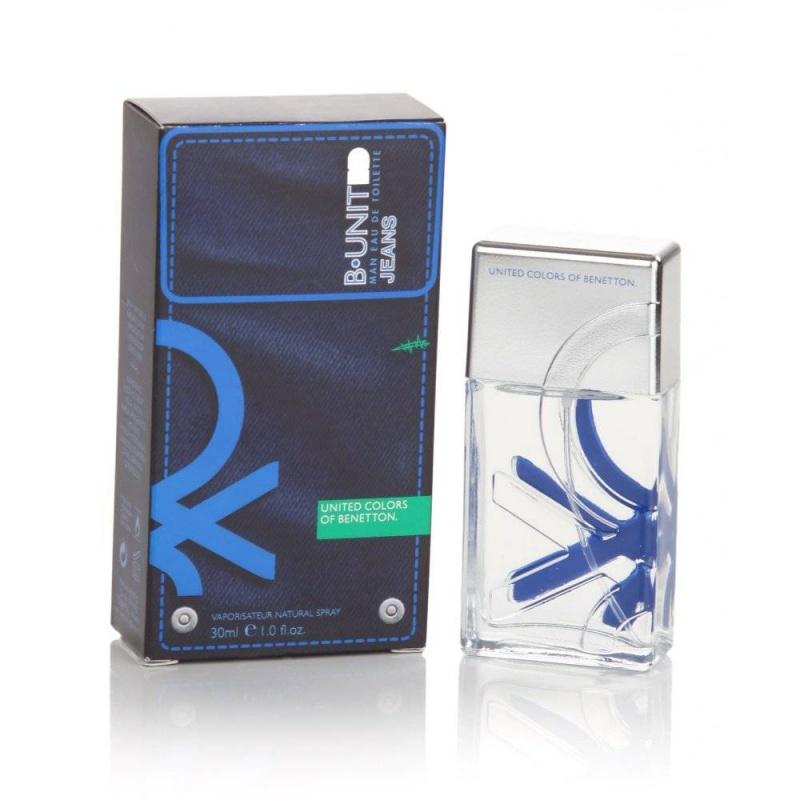 Benetton B.United Jeans  Тоалетна вода за мъже EDT 30 мл-Парфюми