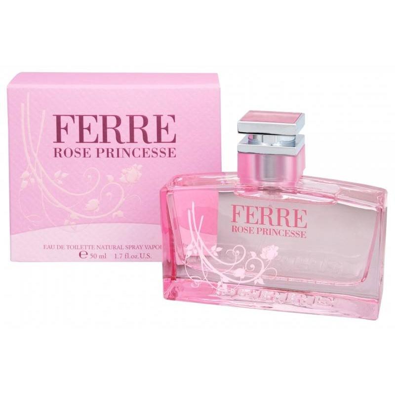 Gianfranco Ferre Rose Princess  Тоалетна вода за жени EDT 50 мл-Парфюми