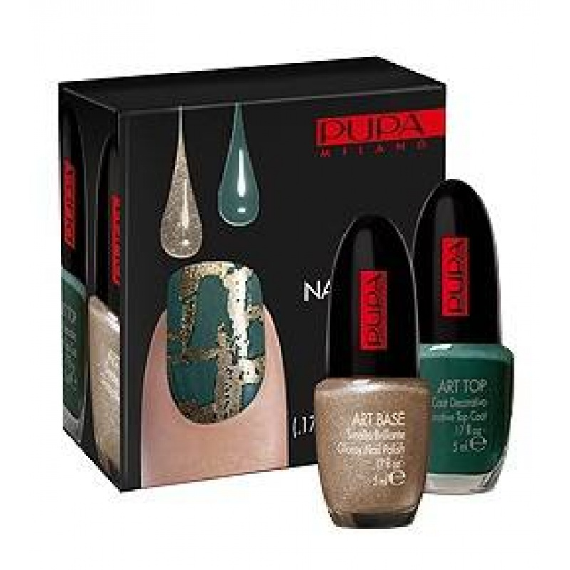 Комплект за декорация на нокти Pupa Nail Art Kit City Safari 27-Козметика