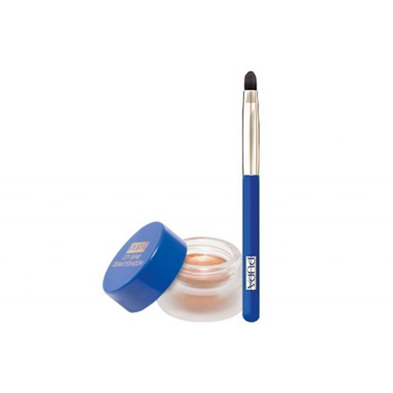 Кремообразни сенки за очи с апликатор Pupa City Safari Creme Eyeshadow 03 Bronze-Козметика