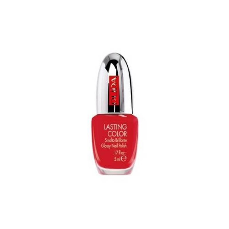 Лак за нокти Pupa Lasting Color Nail Polish 628 Hot Red-Козметика