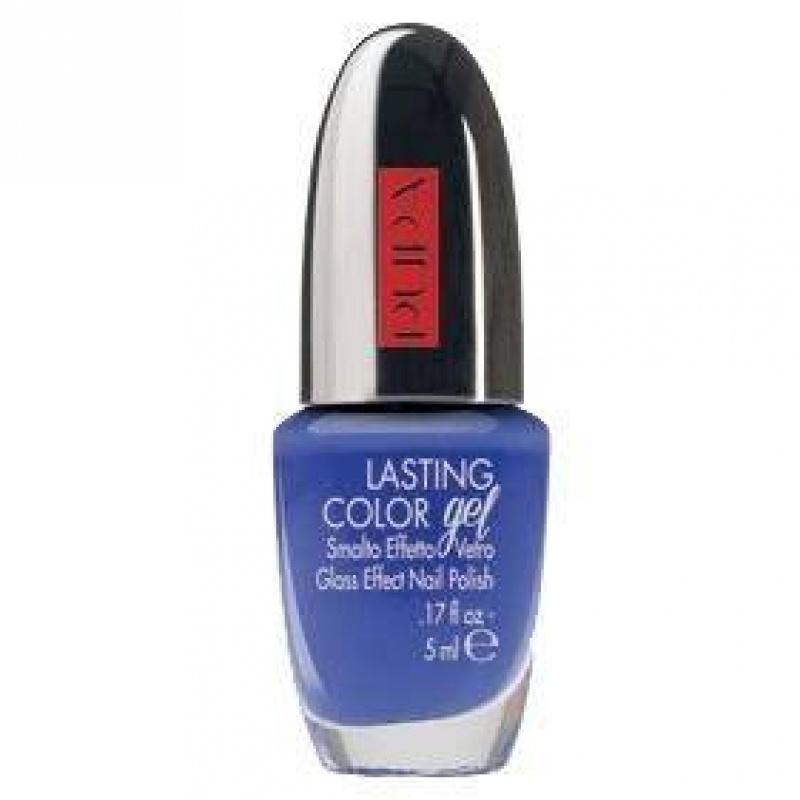 Лак за нокти със стъклен ефект Pupa Lasting Color Gel 061 Navy Chic Wisteria-Козметика