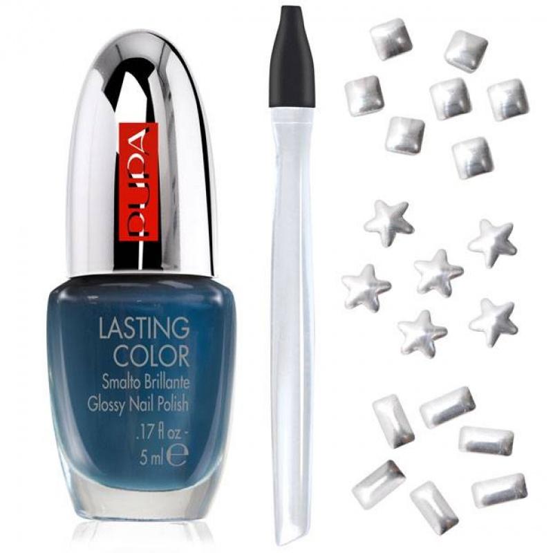 Комплект за маникюр Pupa Glam Jewels Nail Art Kit 002 Silver Jewels-Козметика