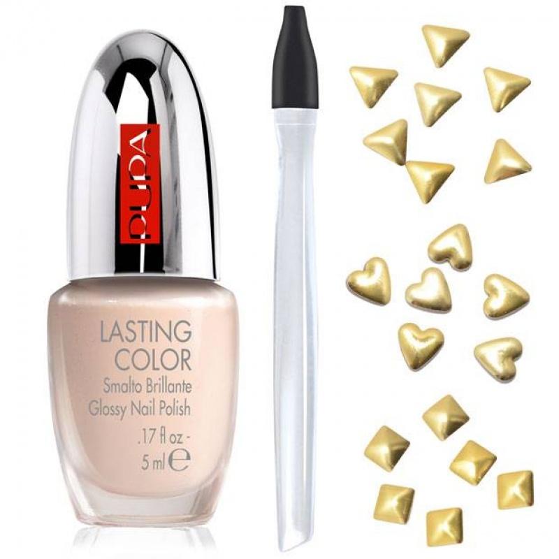Комплект за маникюр Pupa Glam Jewels Nail Art Kit 001 Gold Jewels-Козметика