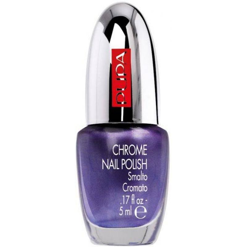 Лак за нокти Pupa Chrome Nail Polish 014, Chrome Violet-Козметика