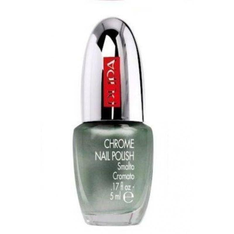Лак за нокти Pupa Chrome Nail Polish 016, Chrome Light Green-Козметика