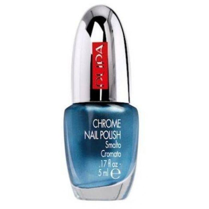 Лак за нокти Pupa Chrome Nail Polish 018, Chrome Sky Blue-Козметика