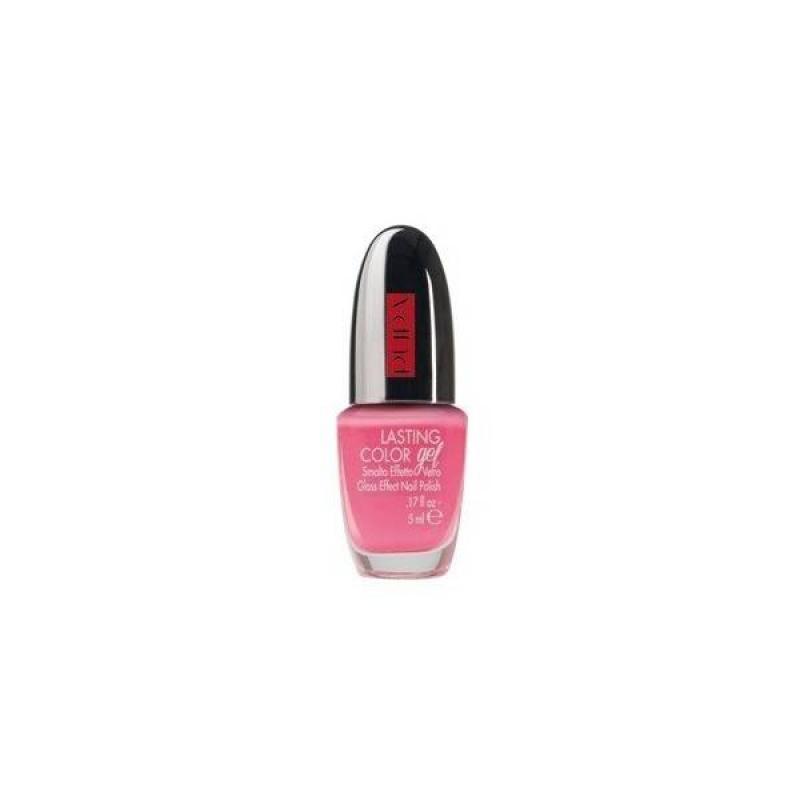 Лак за нокти със стъклен ефект Pupa Lasting Color Gel 018 Delicate Crimson-Козметика
