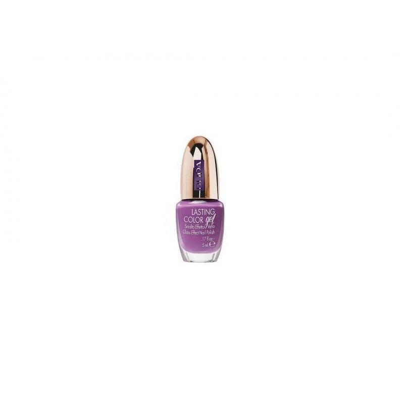 Лак за нокти със стъклен ефект Pupa Lasting Color Gel 091 Lilac-Козметика