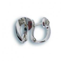 Alicia - Сребърни обеци с Цирконий 114432-Сребърни бижута