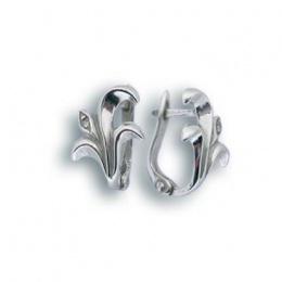Rita - Сребърни обеци с Цирконий 114436-Сребърни бижута