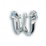 Madison - Сребърни обеци с Цирконий 121042-Сребърни бижута