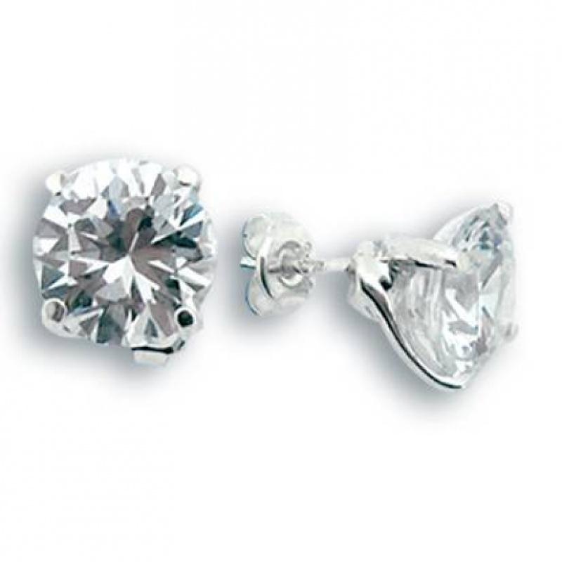 Avery - Сребърни обеци с Цирконий 121142-Сребърни бижута