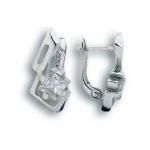 Maya - Сребърни обеци с Цирконий 121193-Сребърни бижута