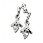 Rosalie - Сребърни обеци с Цирконий 121821-Сребърни бижута