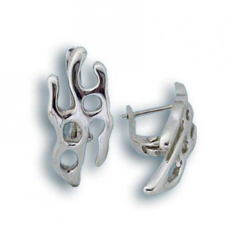 Ciera - Сребърни обеци без Камък 132643-Сребърни бижута
