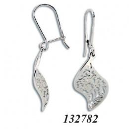 Elektra - Сребърни обеци без Камък 132782-Сребърни бижута