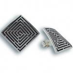 Sidney - Сребърни обеци без Камък 136638-Сребърни бижута