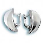 Conchita - Сребърни обеци без Камък 136798-Сребърни бижута
