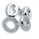 Loretta - Сребърни обеци с Цирконий 137039-Сребърни бижута