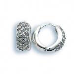 Scarlett - Сребърни обеци с Цирконий 137152-Сребърни бижута